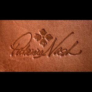 Patricia Nash Woven Plaid Terresa Wallet Toast